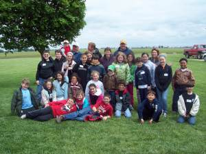 For nine years I've been pen-paling with Chicago-area classes about life on the farm. We've been fortunate to host a few of them to our farm.