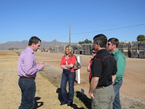 Brett explains the history of his family's farm in this arid Arizona valley.