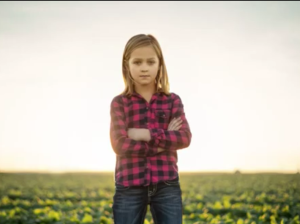 "From Dodge's ""God Made A Farmer"" commercial: this still is me, my daughter, my sister, my niece and every other girl who finds that moment when she knows that the world is at her fingertips if she works twice as smart and twice as hard.  Girl Power!"