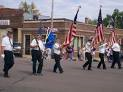 This American Legion troop symbolizes so many marching down Main Street in Anytown, USA.