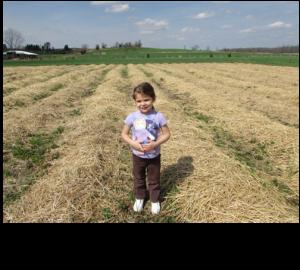Rachel in Field