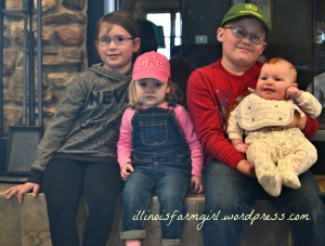 The cousins . . . we farm for the next generation of Grand Prairie Farms. They get a chance at this charmed country life.